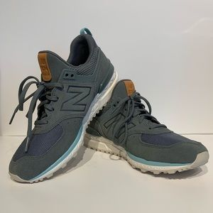 New Balance WS574PMB Sport Suede Sneaker Size 6